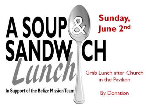 Soup & Sandwich Lunch