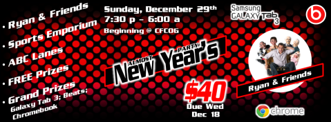 Almost New Year's Party